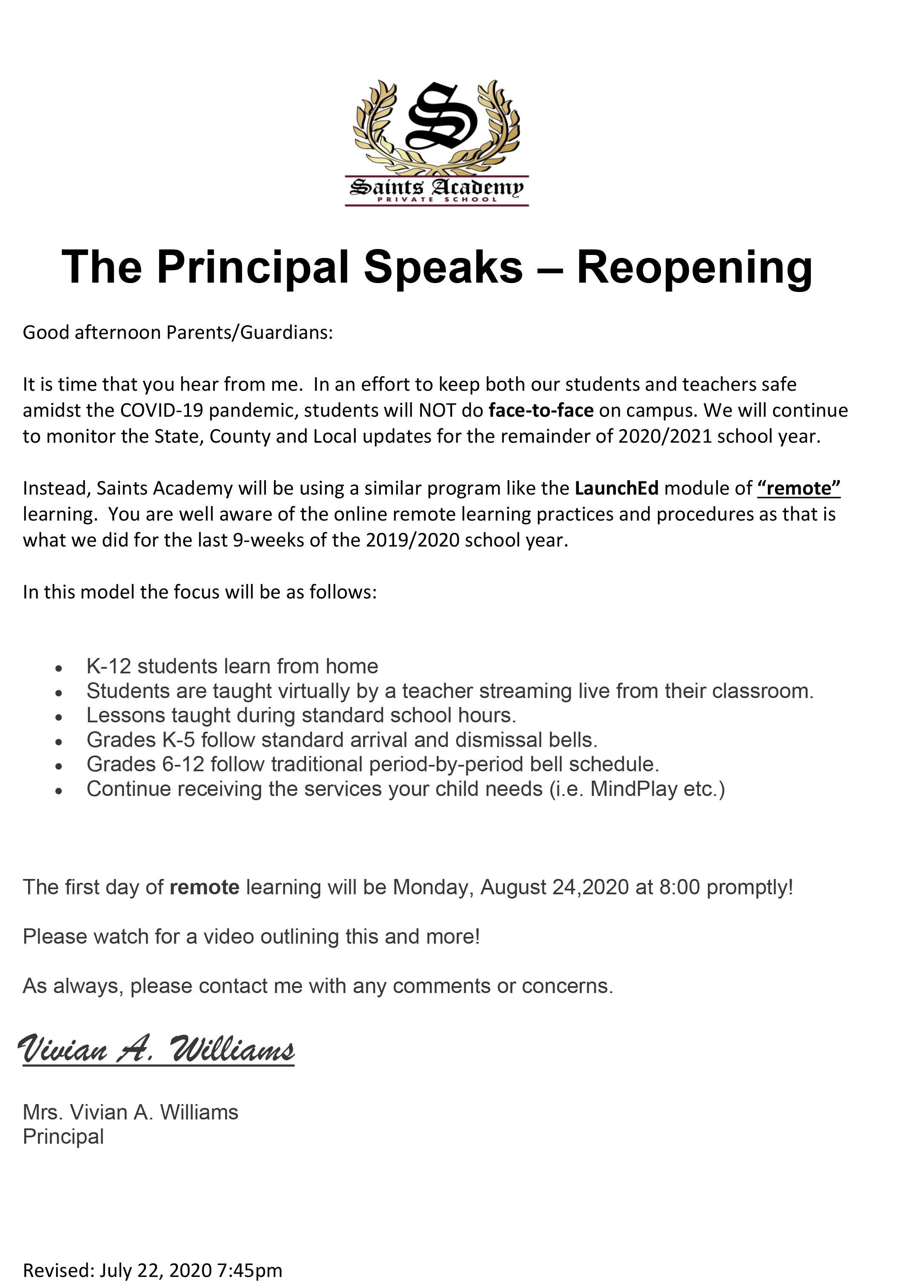 Microsoft Word - The Principal Speaks-reopening 20